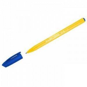 """Ручка шариковая """"InkGlide 100 Icy"""" синяя 0.7мм трехгранная, оранжевый корпус 16602/50 Bx Luxor {Индия}"""