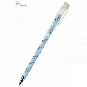 """Ручка шариковая 0.5 мм """"HappyWrite.Единорожки"""" синяя 20-0215/17 Bruno Visconti {Китай}"""