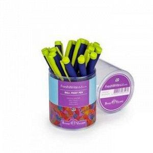 """Ручка шариковая 0.7 мм """"FreshWrite. Перья"""" синяя 20-0214/14 Bruno Visconti {Китай}"""