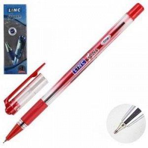 """Ручка шариковая LINC """"Glycer"""" красная 0.7мм 1300RF LINC {Индия}"""