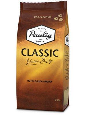 Кофе Paulig Classic, 250г зерно