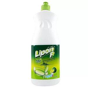"LION ""Lipon"" Средство для мытья посуды  150мл (пуш-пул)  Лимонный чай  Таиланд"