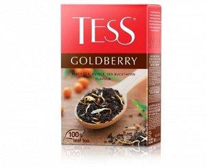 Чай Тесс Goldberry tea, 100г