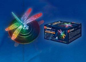 Садовый светильник на солнечной батарее Magic dragonfly USL-S-106/PT075. Серия Special