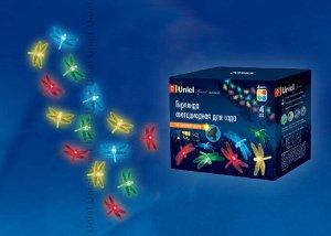 Садовая гирлянда на солнечной батарее Dragonflies USL-S-123/PT4000. Серия Special