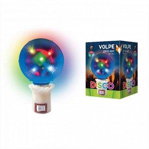 ДИСКО ШАР 3D Светодиодный светильник ULI-Q309 1,5W/RGB . Свечение 3D звёзды. Вилка 220В. Диаметр 8см.