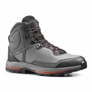 Ботинки для треккинга водонепроницаемые мужские TREKKING 100 FORCLAZ