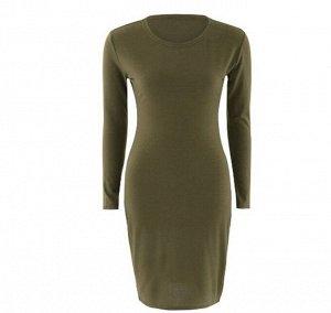 Платье Платье. Материал: полиэстер. Размер: (бюст, длина см) S (82, 94), M (86, 95), L (90, 96), XL (94, 97).