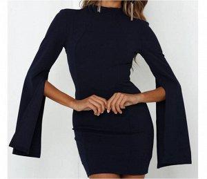 Платье Платье. Материал: полиэстер. Размер: (бюст, длина см) S (79, 82), M (84, 83), L (89, 84), XL (94, 85).