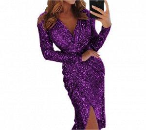 Платье Платье. Материал: полиэстер. Размер: (бюст, длина см) S (84, 116), M (88, 117), L (92, 118), XL (96, 119), 2XL (100, 120), 3XL (104, 121).