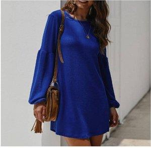 Платье Платье. Материал: полиэстер. Размер: (бюст, длина см) S (90, 84), M (94, 85), L (98, 86), XL (102, 87).