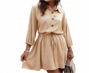 Платье Платье. Материал: полиэстер. Размер: (бюст, длина см) S (103, 89), M (107, 91), L (113, 93), XL (119, 95).