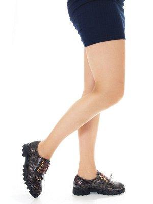 Туфли Страна производитель: Турция Размер женской обуви x: 36 Полнота обуви: Тип «F» или «Fx» Тип носка: Закрытый Форма мыска/носка: Закругленный Каблук/Подошва: Плоская подошва Высота каблука (см): 3