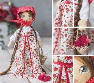 Набор для шитья Мягкая кукла Василина 30см