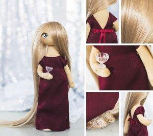 Набор для шитья Мягкая кукла Лорен 30см