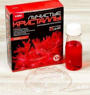 Набор для выращивания кристаллов Лучистый красный
