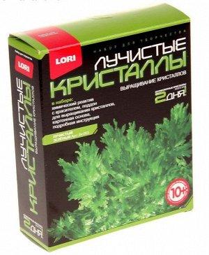 Набор для выращивания кристаллов Лучистый зеленый