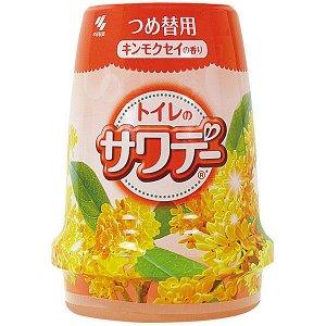 Освежитель воздуха для туалета «Mimosa»/«Sawaday–аромат османтуса и ми», 140 г (сменная упаков