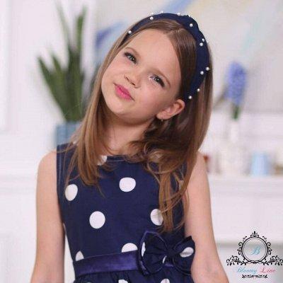 №138=✦Bloomy line✦-детская мода для маленьких модниц. — Ободки и повязки — Аксессуары для волос