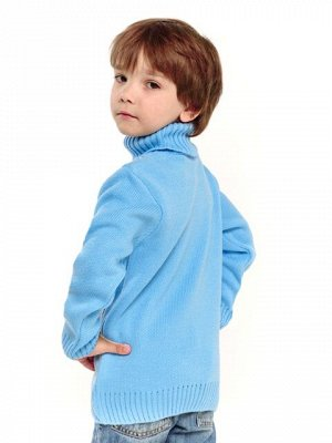 Свитер Количество в упаковке: 1; Артикул: ТРИС-863/1; Цвет: Голубой; Ткань: Пряжа; Состав: 50% шерсть,50% акрил; Цвет: Красный | Голубой Свитер детский с жаккардовым рисунком