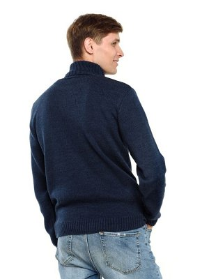 Свитер Количество в упаковке: 1; Артикул: ТРИС-789м/2; Цвет: Синий; Ткань: Пряжа; Состав: 50% шерсть,50% акрил; Цвет: Красный | Синий | Голубой Свитер мужской