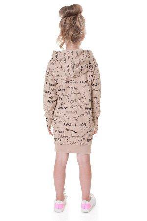 Платье Материал: Футер с лайкрой (95% х/б, 5%эластан); Предмет: Платья; Количество в упаковке: 1шт.; Сезонность: Осень-Зима; Пол: Девочкам