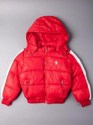 Куртка осенняя для мальчика, красный