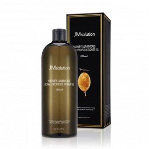 Тонер для лица с экстрактом прополиса JMSolution Honey Luminous Royal Propolis Toner XL
