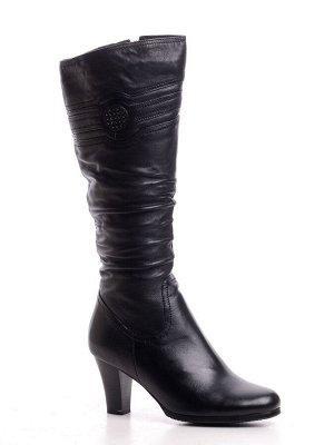 Сапоги Страна производитель: Китай Полнота обуви: Тип «F» или «Fx» Цвет: Черный Каблук/Подошва: Каблук Вид обуви: Сапоги Размер женской обуви: 36, 36, 38, 39, 40 натуральная кожа подкладка - натуральн