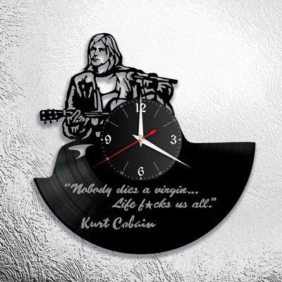 Часы из виниловых пластинок - находка для вашего интерьера — Музыка зарубежная — По поводу