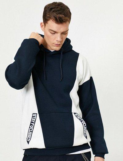 KOTON - новинки женские джинсы и мужские футболки. — Мужские свитеры, пуловеры, толстовки — Одежда