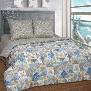 Постельное бельё из бязи Зима-Лето 1,5 спальное - АРТ - Лоскутная мозаика