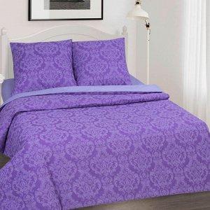 Постельное бельё из поплина зима-лето 1,5 спальное - АРТ - Византия фиолетовая