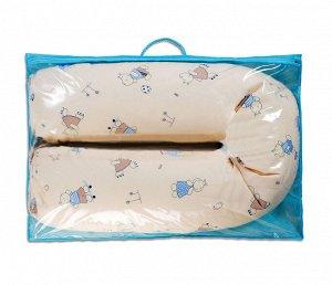 Подушка для беременных и кормящих U-образная 30 х 190 - ТР - Пенополистирол