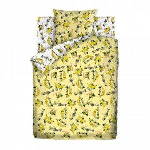 Комплект постельного белья Миньоны -  Бананамания 1,5 сп.