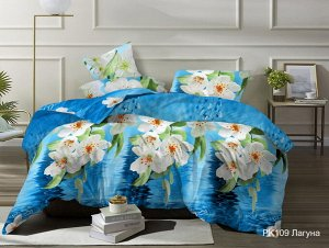Комплект постельного белья Santa Barbara Лагуна Евро