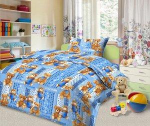 """Комплект постельного белья Улыбашка """"Любимые игрушки"""" гол. Ясли"""