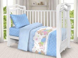 """Комплект постельного белья """"Мой ангелочек"""" Ясли"""