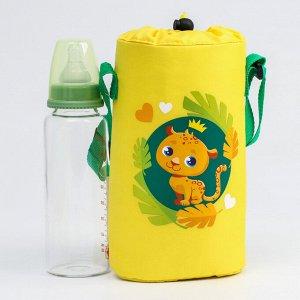 """Термосумка для бутылочки """"TRAND. Леопард"""", для 2 бутылочек"""