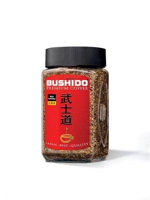 """Кофе Bushido """"Red Katana"""", растворимый, 50г стекло"""