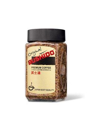 """Кофе Bushido """"Original"""", растворимый, 50г стекло"""
