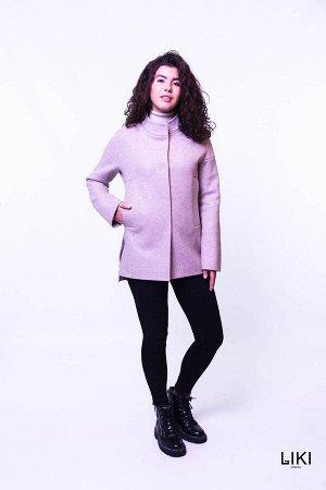 """Пальто """"Катрин"""" (розовый)"""