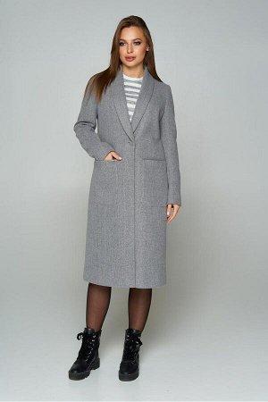 """Пальто """"Р-43"""" (кашемир серый)"""