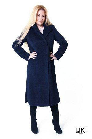 """Пальто """"Натали"""" (темно-синий) - 44 ="""