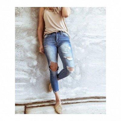 ДЕРЗКАЯ - женская одежда по супер цене — Джинсы — Зауженные джинсы