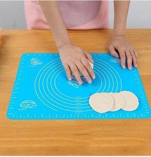 Силиконовый коврик для раскатки теста, с разметкой, 30х40 см