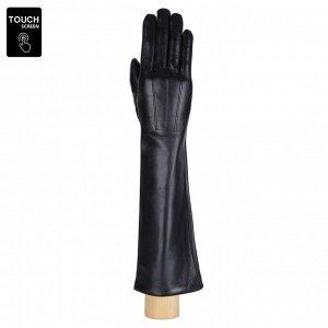 Перчатки, натуральная кожа, Fabretti S1.10-1s black