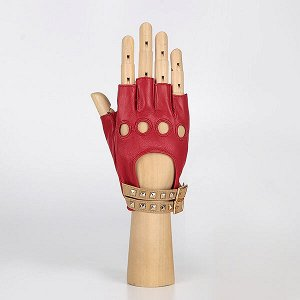 Перчатки, натуральная кожа, Fabretti 2.61-7 red