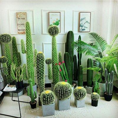🌴 Искусственные растения, 🌳 флористика, 🌸 фитодизайн — Искусственные кактусы — Искусственные растения