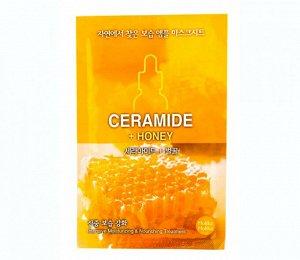 Маска питание и увлажнение с керамидами и экстракта меда
